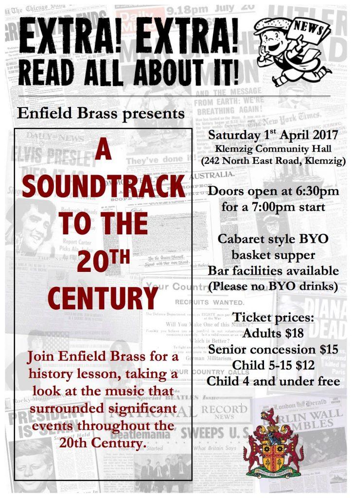 A Soundtrack to the 20th Century @ Klemzig Community Hall | Klemzig | South Australia | Australia